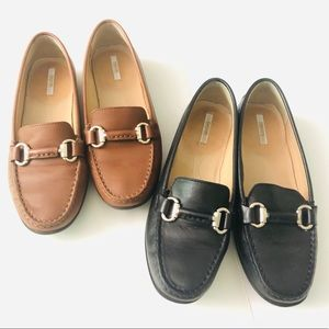 Geox respira loafers brown